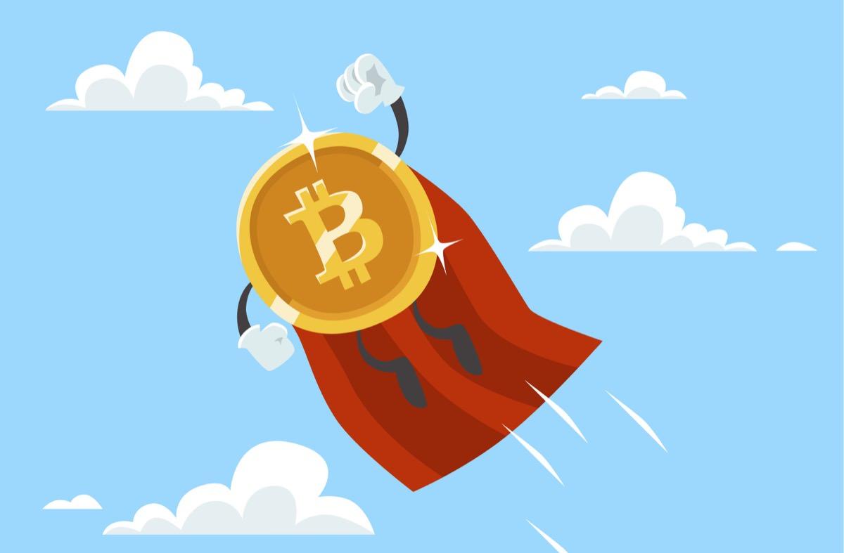 ビットコインが飛ぶ