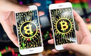 スマホのビットコイン画面