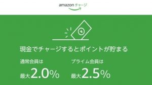 Amazonチャージ画像