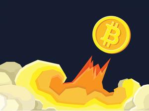 ビットコイン上昇