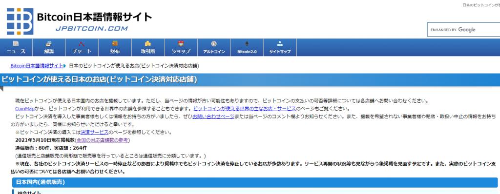 ビットコイン情報サイト