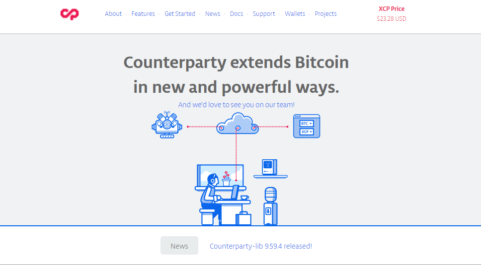 Counterparty(XCP)①